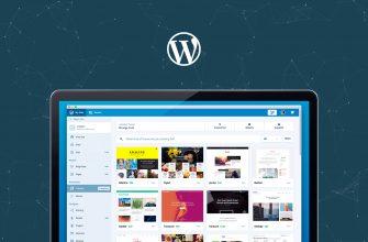 Устанавливаем тему на WordPress